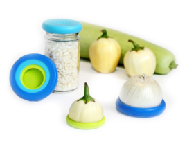 Food Huggers Small  - set van 6 - zero plastic