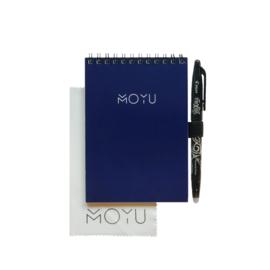 Ringband A6 notitieboekje - New Navy - uitwisbaar papier - MOYU
