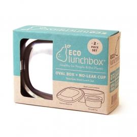 Broodtrommel en snackdoosje - Ecolunchbox