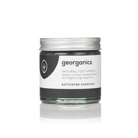 Tandpasta Actieve Kool - fluoridevrij - Georganics