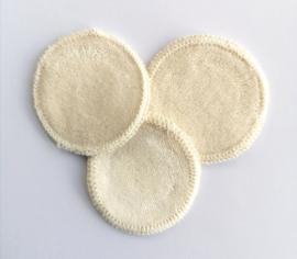 Wasbare  pad 1 stuk - wit - Anaé