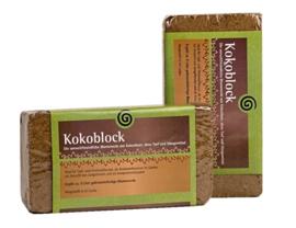Kokosblok 750 gram (maakt 9 liter potgrond) - Aries