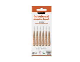 Interdentale ragers bamboe 6 stuks - 0,45mm - Humble Brush