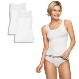 Singlets Anna (2-pack) – Wit