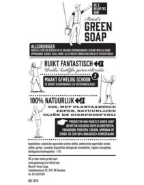 Allesreiniger spray Lavendel & Kruidnagel (fles van gerecycled plastic) 500 ml Green Soap