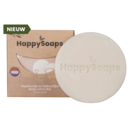 Body Lotion Bar - Coco Nuts - HappySoaps