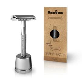Scheermes - Safety Razor - inclusief scheermeshouder - BamBaw