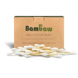 Wattenstaafjes bamboe - 200 stuks - Bam Baw