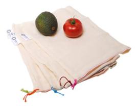 Groente & fruit zakjes maat S 5 stuks
