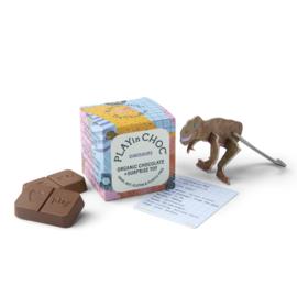Chocolade kindersurprise DINO'S - vegan & zero plastic - PlayinChoc