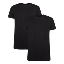 T-Shirt Ruben • ronde hals (2-pack) – Zwart