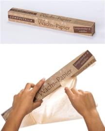 Vershoudpapier met plantaardige waslaag - Compostella
