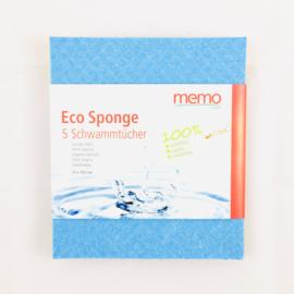 Spons doeken (composteerbaar) 5 stuks  - Memo