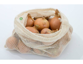 Groente en fruit netje van bio katoen Maat L - Boweevil