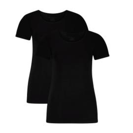 T-shirts Kate (2-pack) – Zwart