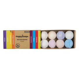 Mini Bath Bombs - Tropical Fruits - HappySoaps