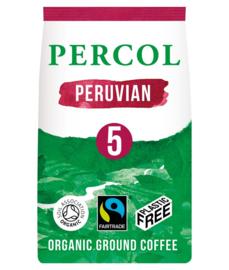 Gemalen koffie Peruvian - zero plastic - Percol