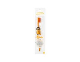 Kindertandenborstel oranje  vanaf 3 jaar (biologisch afbreekbaar) - Biobrush