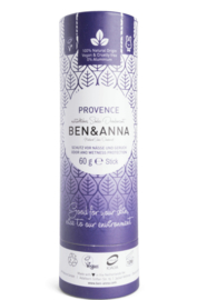 Deodorant stick 60 gram Provence - Ben & Anna