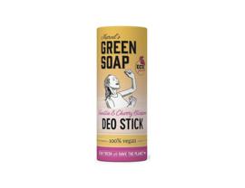 Deodorant Stick - Vanilla & Cherry Blosssom - 40 gram - Marcels Green Soap