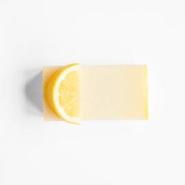 Schoonmaakzeep citroen & citronella 100 gram - Werfzeep