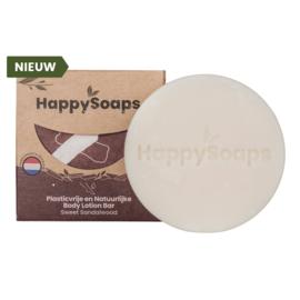 Body Lotion Bar - Sweet Sandelwood - HappySoaps