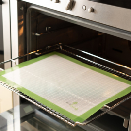 Herbruikbare siliconen bakmat - Ecoliving