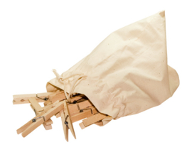 Wasknijpers beukenhout 20 stuks- Jumbo - Redecker