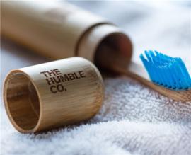 Tandenborstelkoker bamboe - Humble brush