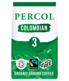 Gemalen koffie Colombian - zero plastic - Percol