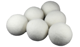 Wasdroger ballen van wol - 6 stuks - EcoSavers