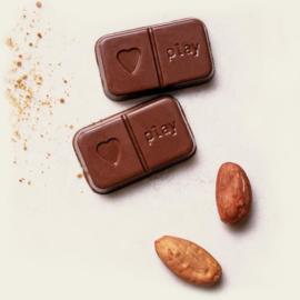 Chocolade puur - vegan & zero plastic - PlayinChoc