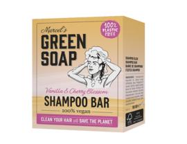Shampoo bar - Vanille & Kersenbloesem  - Marcels Green Soap