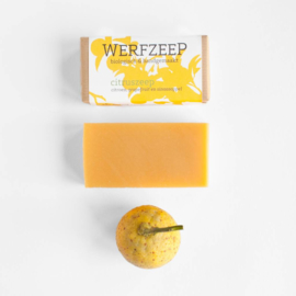 Citruszeep 100 gram - Werfzeep