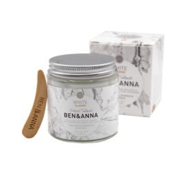 Tandpasta White mét fluoride 100 ml - Ben & Anna