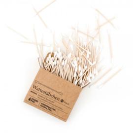 Wattenstaafjes bamboe  100 stuks - Hydrophil