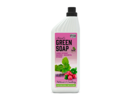 Wasmiddel Patchouli & Cranberry (recycled plastic) 1 liter - Green Soap