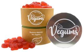 Multivitaminen Vegums - Basis pakket - 60 stuks+bewaarblikje