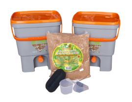 Keukenemmer (2 stuks) -  incl starter - Bokashi