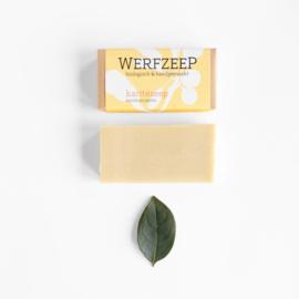 Karitézeep (shea butter) 100 gram - Werfzeep
