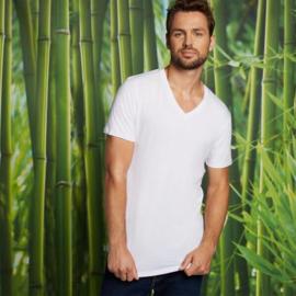T-Shirt Velo • v-hals (2-pack) – Wit
