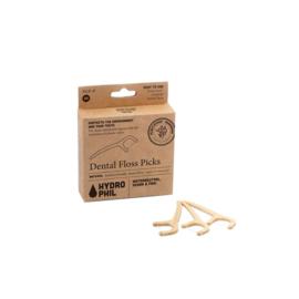 Dental Floss Picks bamboe - Hydrophil