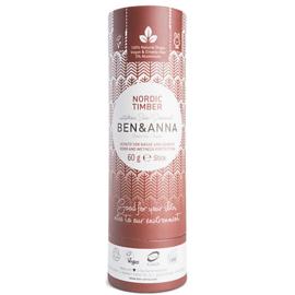 Deodorant Stick 60 gram Nordic Timber  - Ben & Anna