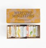 Cadeaudoos met 18 minizeepjes - Werfzeep