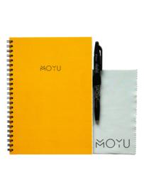 Ringband A5 notitieboekje - Young Yellow - uitwisbaar papier - MOYU