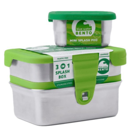 ECO 3-in-1 Splash Box - Ecolunchbox
