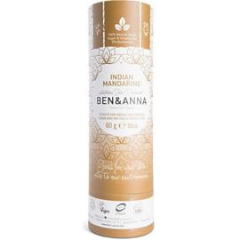 Deodorant Stick 60 gram Indian Mandarine  - Ben & Anna