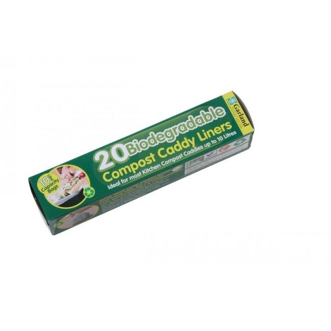 Composteerbare GFT zakken 10 liter - 20 stuks
