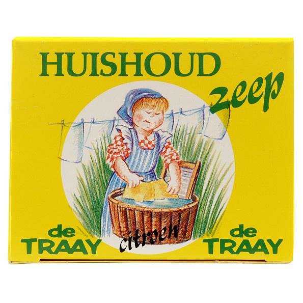 Huishoudzeep citroen 200 gram - De Traay-