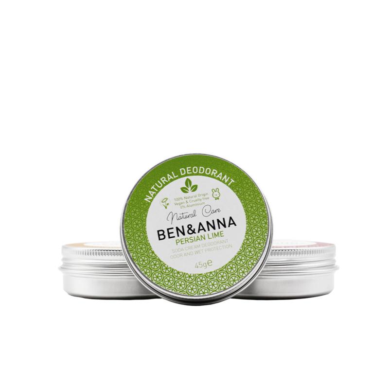 Deodorant blikje 45 gram Persian Lime - Ben & Anna